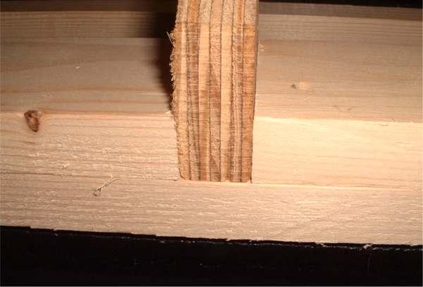 Pine Plywood Grain ~ Zephyr teardrop camper hatchdetails